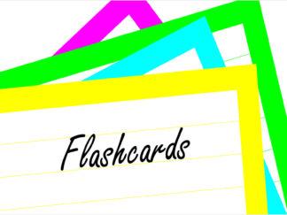 flashkaarten voorkant